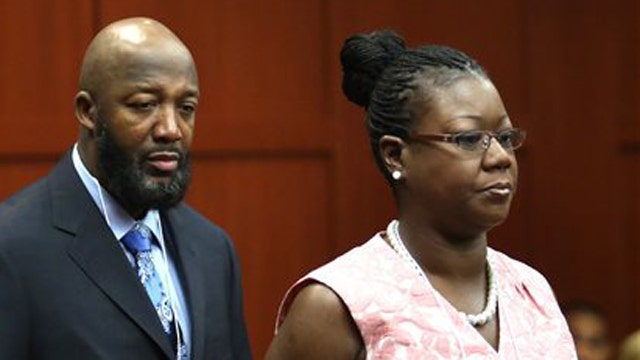 Martin's family prepared for a possible Zimmerman acquittal?