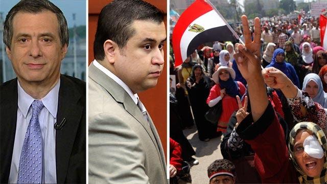 Media coverage of Egypt vs. Zimmerman trial