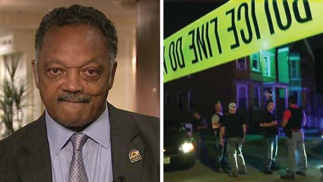 Rev. Jesse Jackson on Chicago gun violence