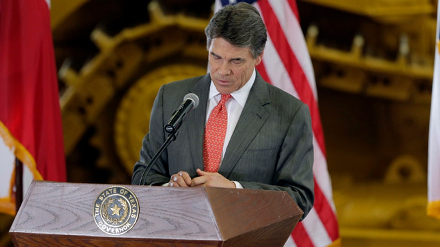 Rick Perry announces he won't seek to extend his record setting run as Texas governor
