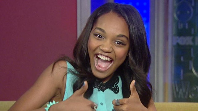 China Anne McClain chats about working on 'Grown Ups 2'