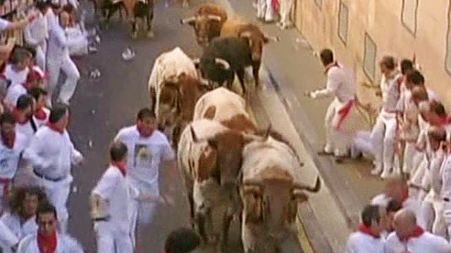 Why do people run with bulls?