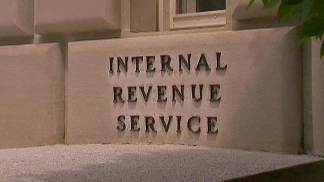 Cavuto: Time for IRS to 'roll in a little less cash'