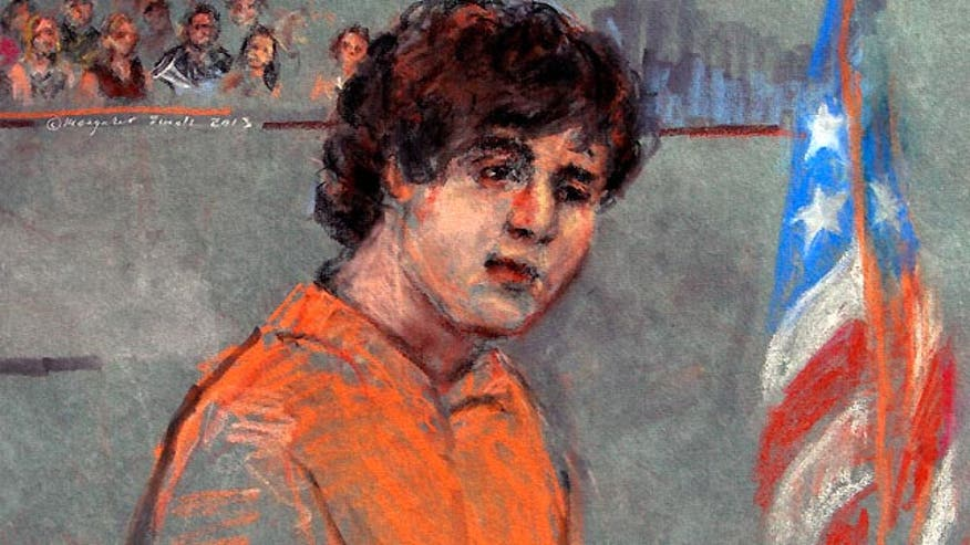 Boston bombing suspect makes court appearance