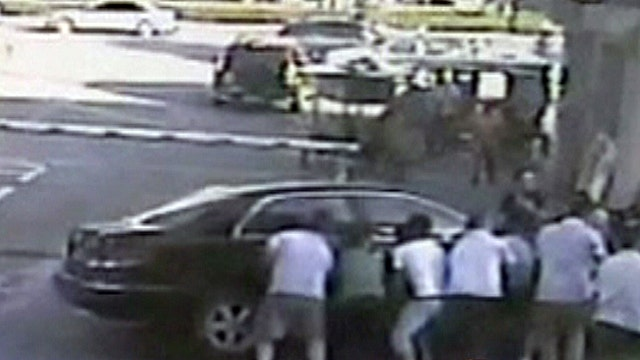 8-year-old boy survives being run over by car in China