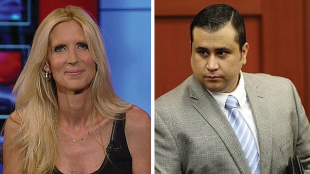 Mainstream media's coverage of the Zimmerman trial