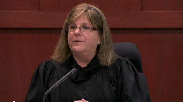 Is the judge anti-George Zimmerman?