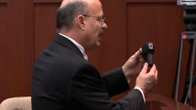 Prosecution: How did the victim see gun in the darkness?