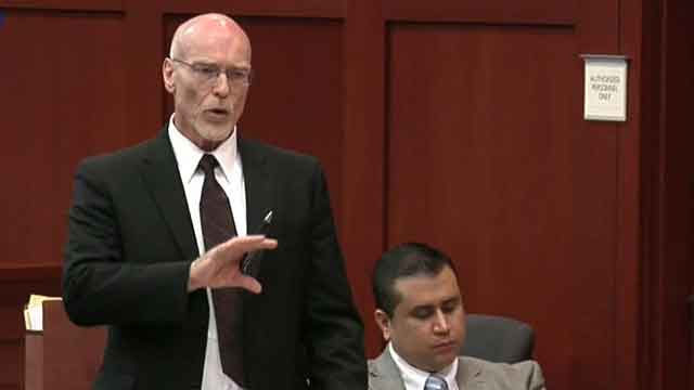 Zimmerman defense: Manslaughter charge 'outrageous'