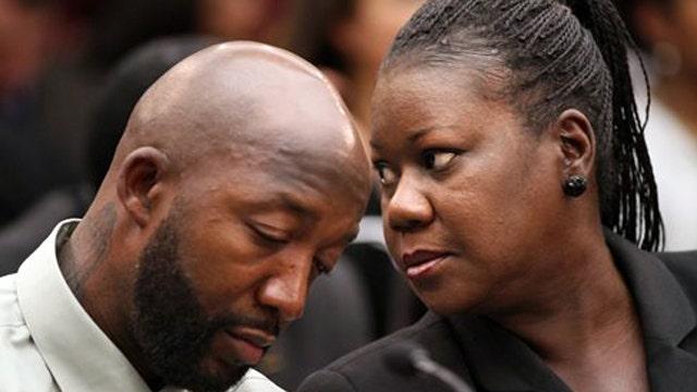 Trayvon Martin's family hold its breath