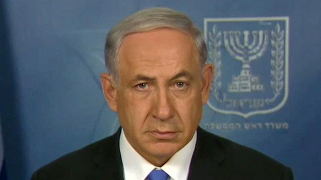 Israeli Prime Minister Netanyahu on Gaza offensive