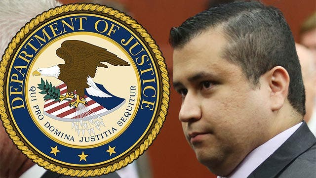 Justice Dept. pressed to file charges against Zimmerman