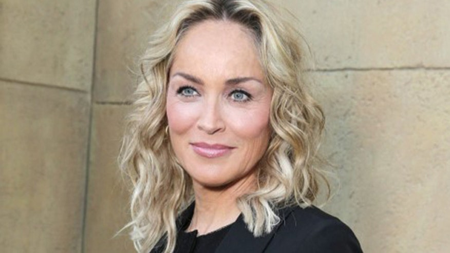 Sharon Stone skips working out, compares her derrière to crème brie