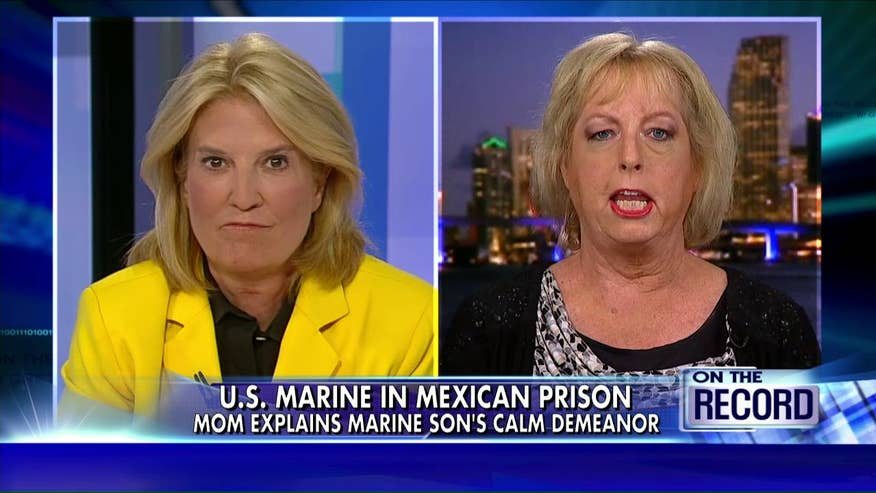As Sgt. Andrew Tahmooressi's copes with PTSD behind bars, his mother, Jill, says he's making the best of a horrible situation and needs to be released from Mexican prison immediately. #MarineHeldinMexico