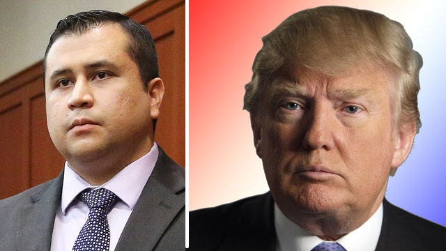 Donald Trump on Zimmerman trial, ObamaCare