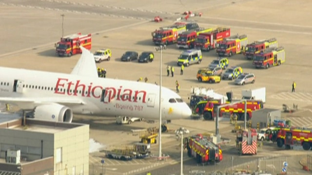 No direct link to batteries in Heathrow Dreamliner fire