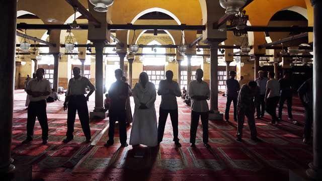 Less than peaceful Ramadan?