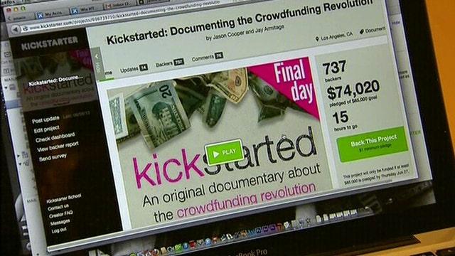 Crowdfunding websites raise billions