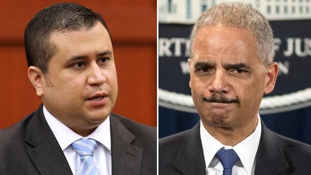 Holder under pressure to investigate George Zimmerman case