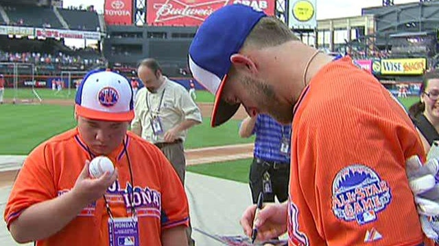 Fans gather at Citi Field for MLB All-Star game