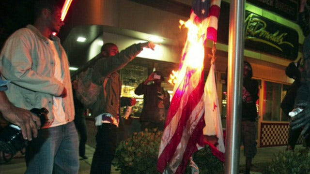 Zimmerman verdict protests take an anti-capitalism turn
