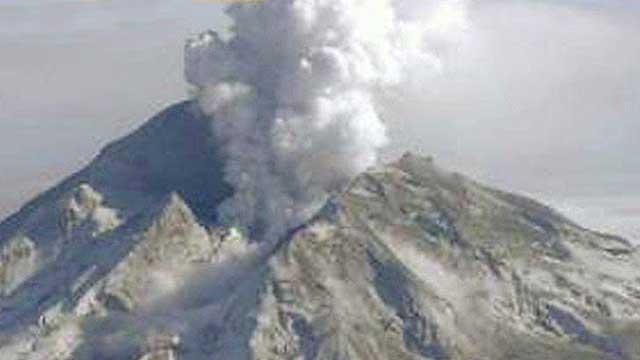 Volcano emits 'silent scream' before explosive eruption