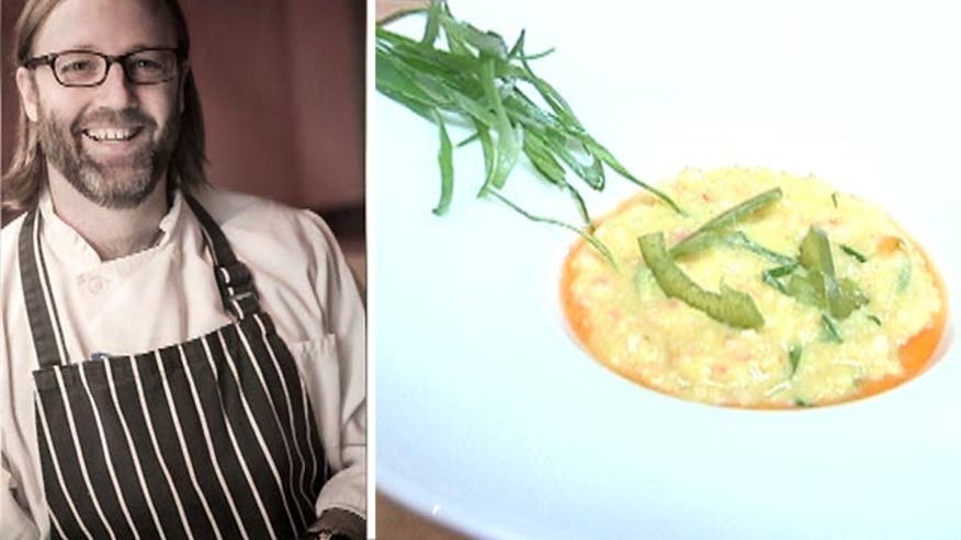Chef Wylie Dufresne's food is where sciene meets food.