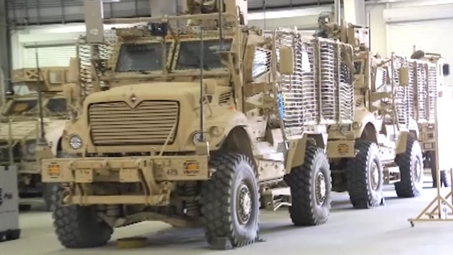 What happens to equipment when US leaves Afghanistan?