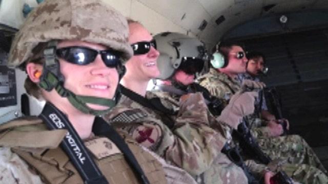 Fox News in Afghanistan in 2013