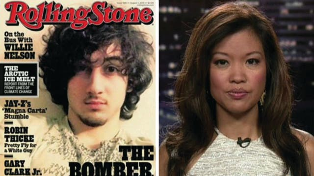 Rolling Stone glorifying terrorism with latest cover?