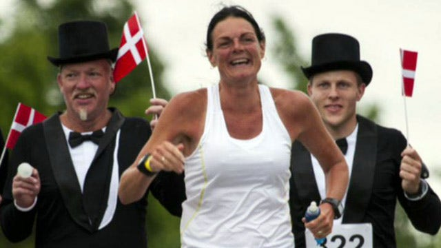 Woman competes in 366 marathons in 365 days