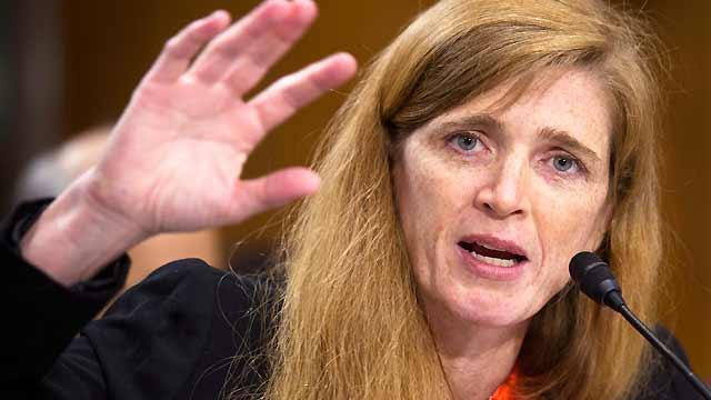 President's pick for UN ambassador faces tough questions