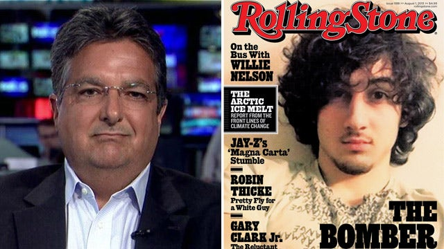 Rolling Stone cover is 'grossly inappropriate'