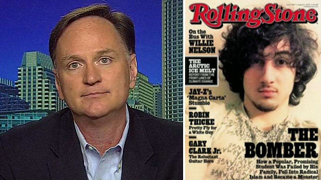 Rolling Stone cover of Boston terror suspect sparks outrage