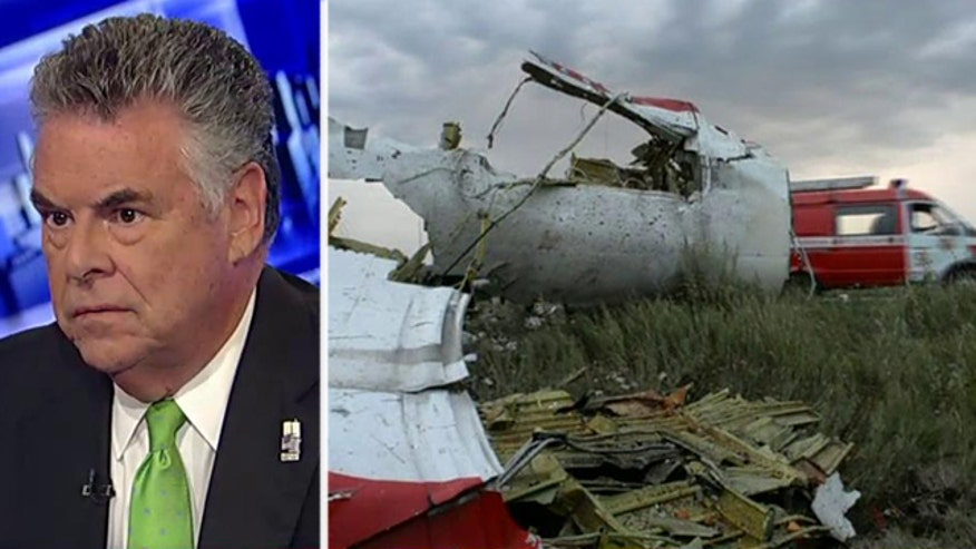 Congressman reacts to jetliner shot down over Ukraine