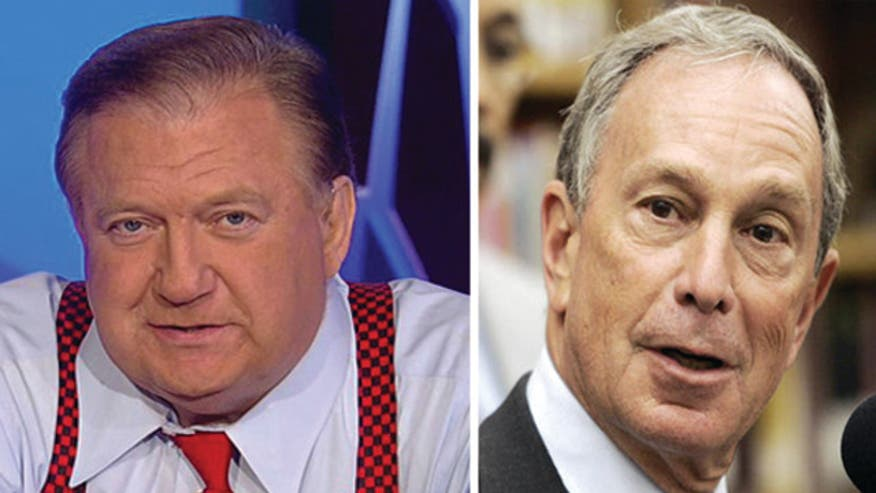 Beckel to Bloomberg: I don't do stairs