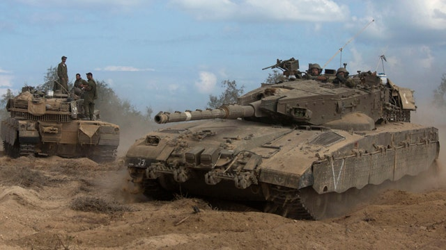 Israel launches ground operation in Gaza Strip