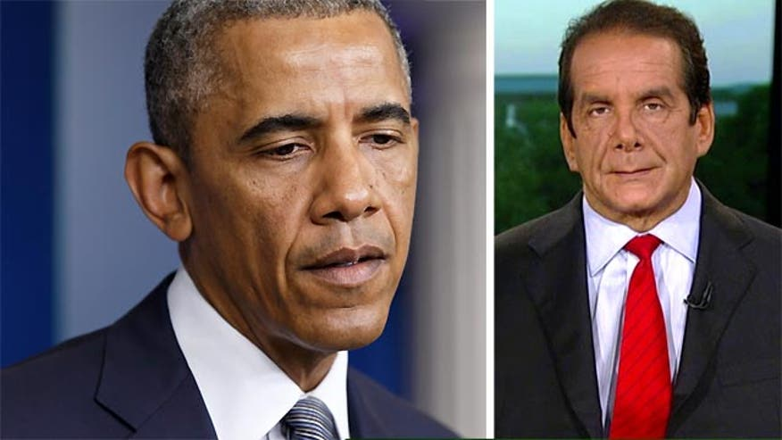 Krauthammer: President Obama's remarks on Malaysia Airliner a reflect philosophy of disinterest