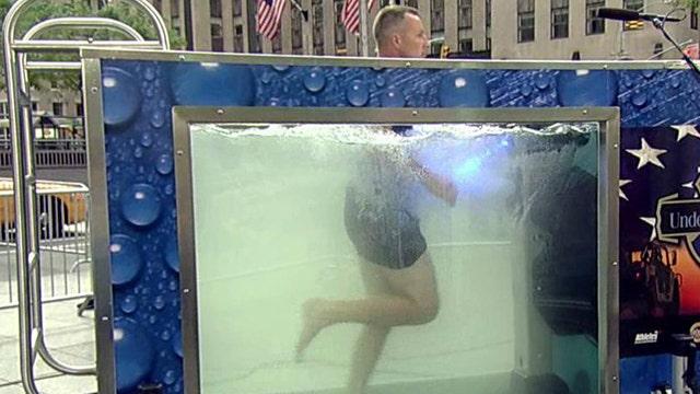 Underwater workouts
