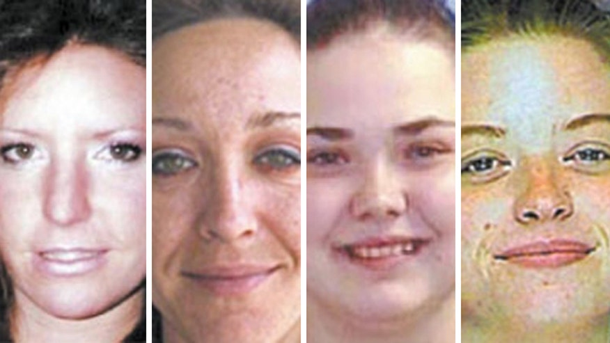 Investigators hunt for clues in the unsolved murders of four women