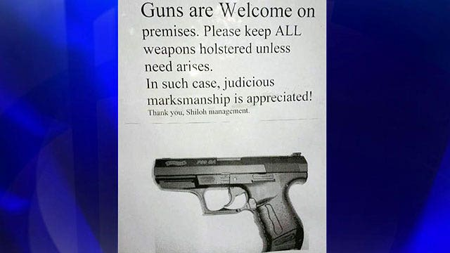 Business is booming at restaurant that welcomes gun owners