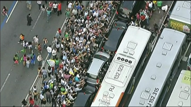 Pope's Driver Causes Frenzy In Brazil