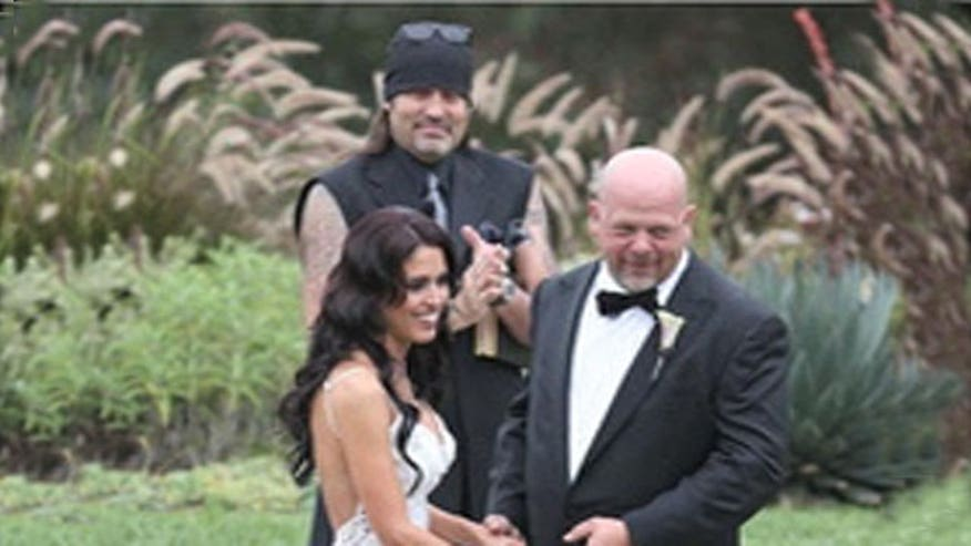 Rick Harrison wed over the weekend.