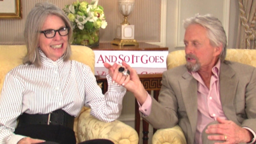 Michael Douglas, Diane Keaton star in new romantic comedy