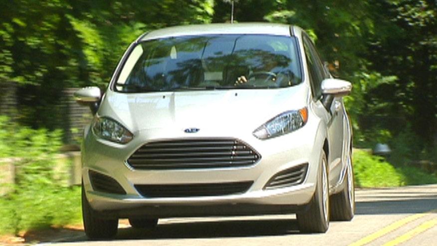 Fox Car Report's Gary Gastelu drives the three-cylinder Ford Fiesta SFE.