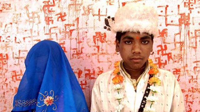 Child marriage: 38,000 girls under 18 daily