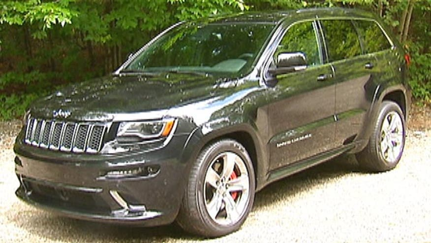 Fox Car Report drives the 2014 Jeep Grand Cherokee SRT