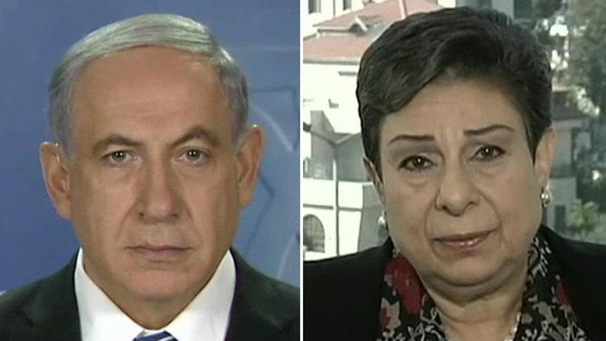 Israeli Prime Minister Benjamin Netanyahu and Palestinian leader Hanan Ashrawi weigh in