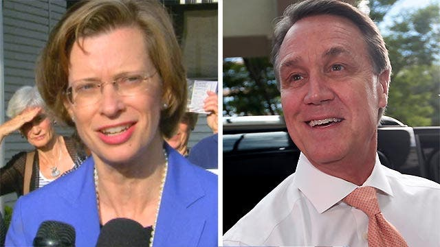 Power Play: The Race in 90 seconds - GA Senate contest