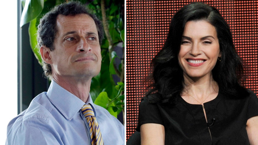 Julianna Margulies said Weiner's sexting makes the show more relevant